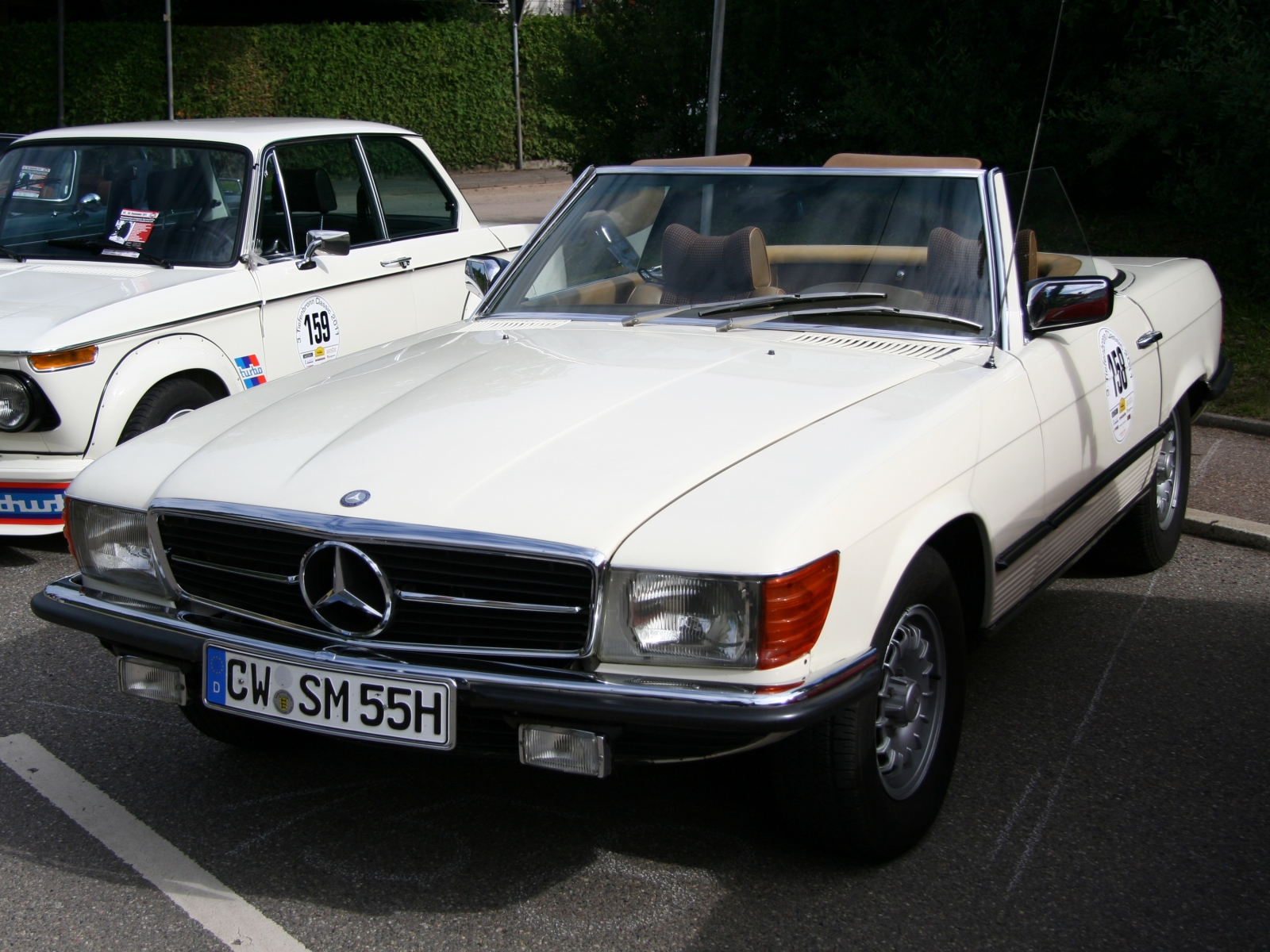 Mercedes Benz SL R 107