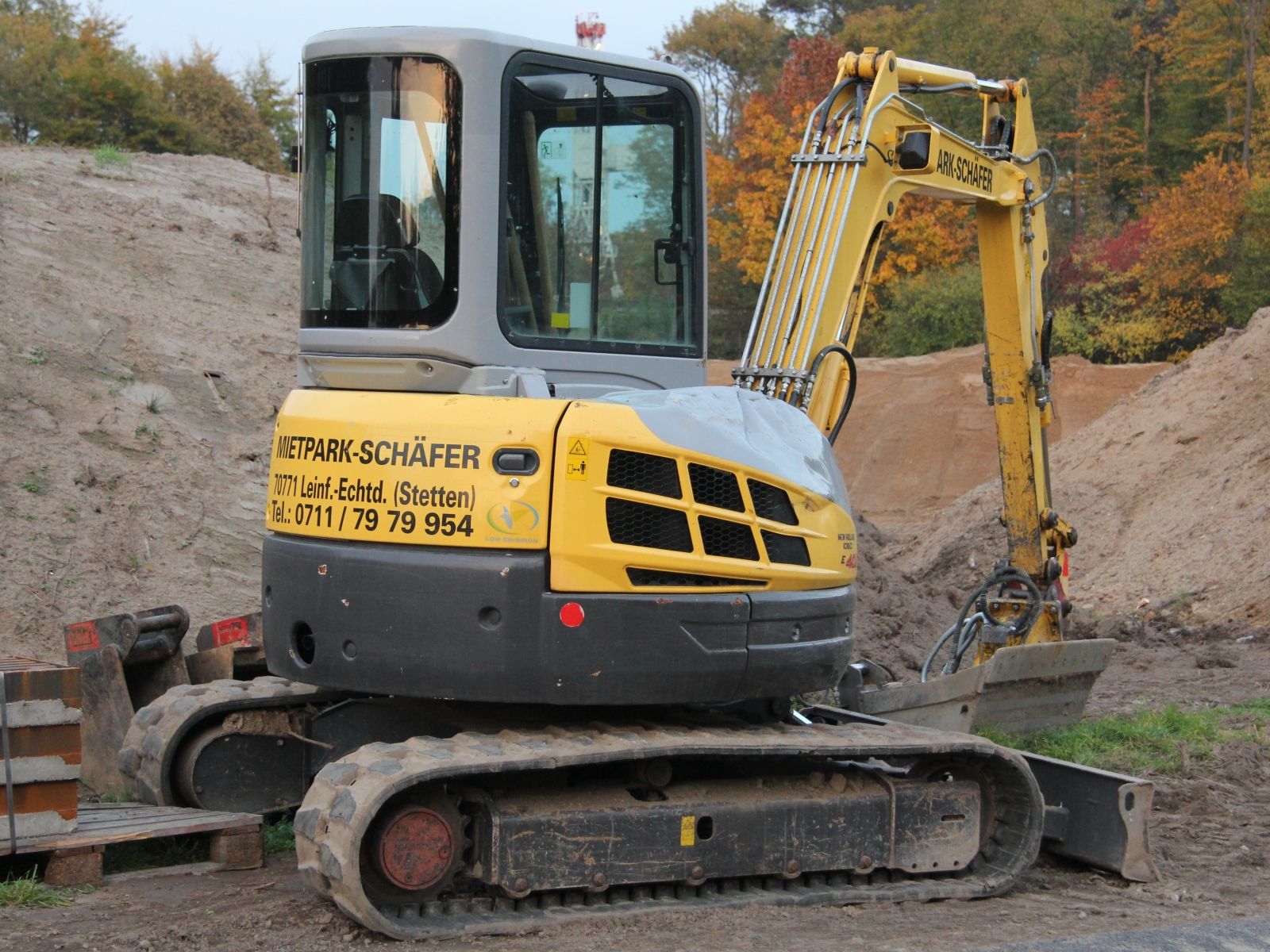 New Holland Kobelco E402SR